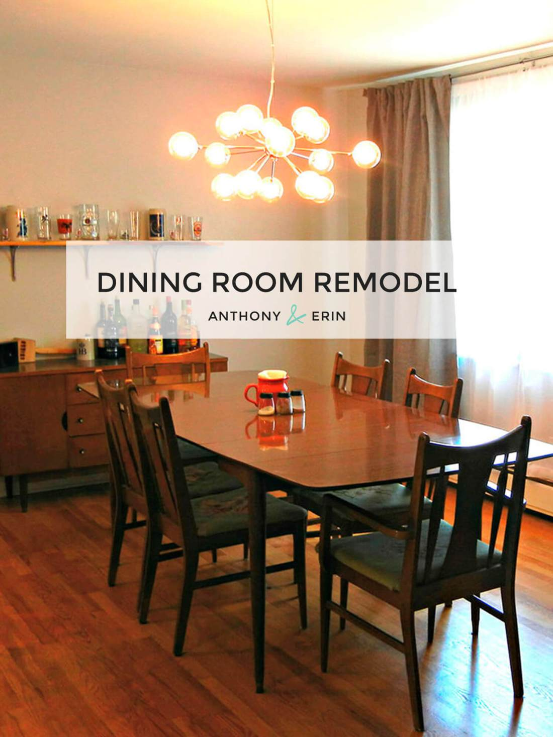 Dining Room Remodel // anthonyanderin.com